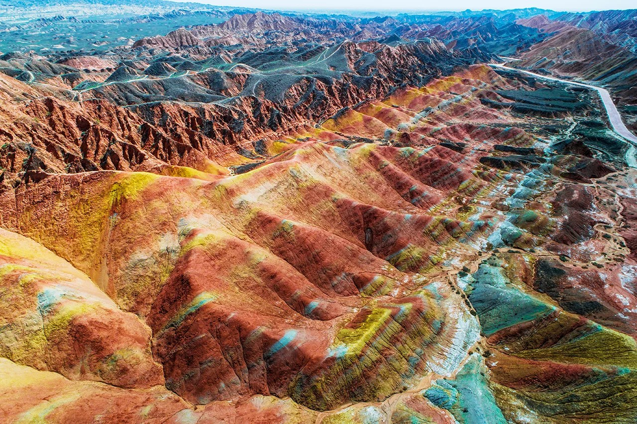 Check Out One of the World's Epic Wonders: Rainbow Mountains; Lori Zaino; The Points Guy
